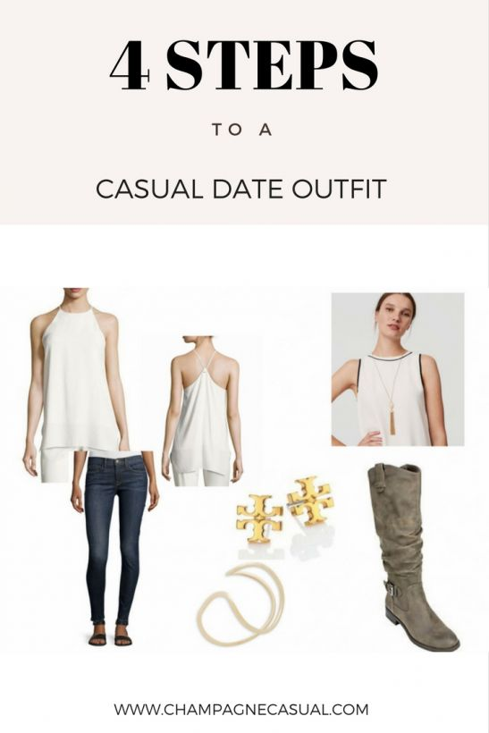 Festive Holiday Casual Date Outfit