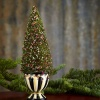 MACKENZIE-CHILDS YULETIDE MANOR SMALL BOTTLEBRUSH TREE