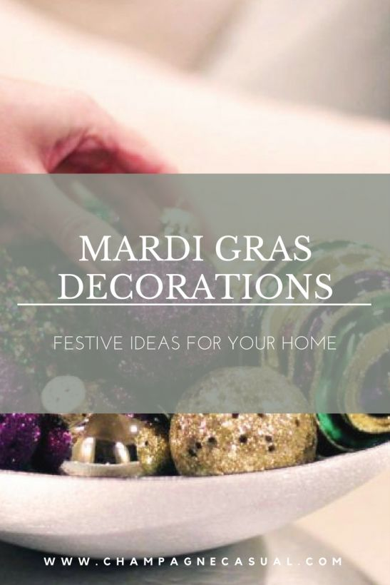 Mardi Gras Decorations Ideas #mardigrasdecorations #mardigrasdecorationsideas