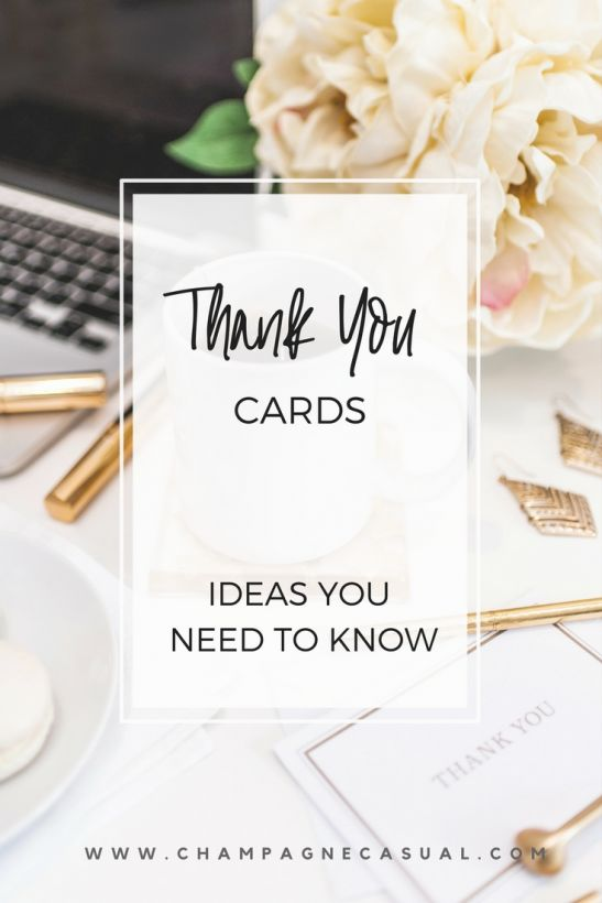 Thank You Card Ideas & What to Say in a Thank You Note