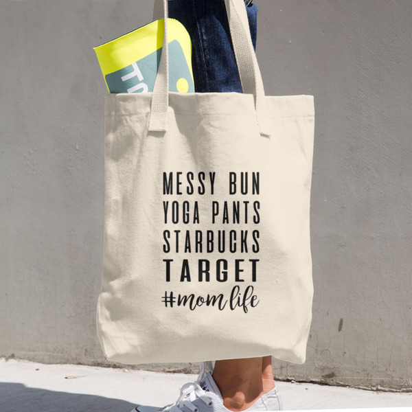 Great Gifts for Mom - #MomLife Messy Bun Tote