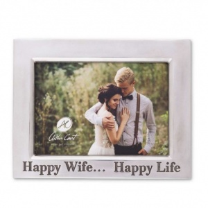 Happy Wife 5 x 7  Classic Frame
